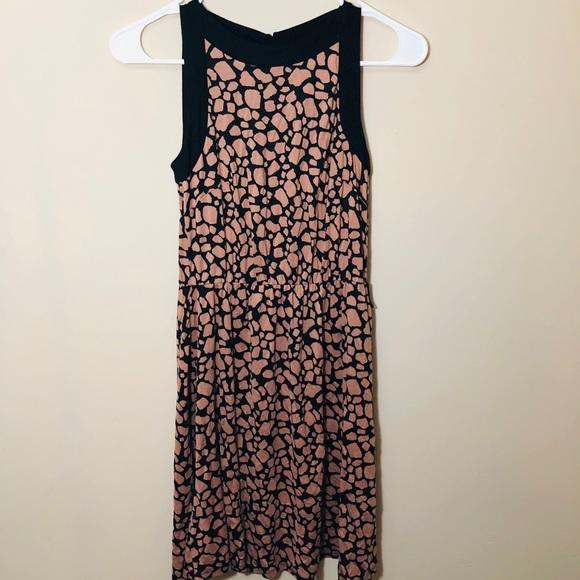 LOFT Dresses & Skirts - LOFT Rose and Black Dress - XS